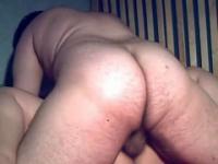 Chatte de grosse dégoulinante de sperme